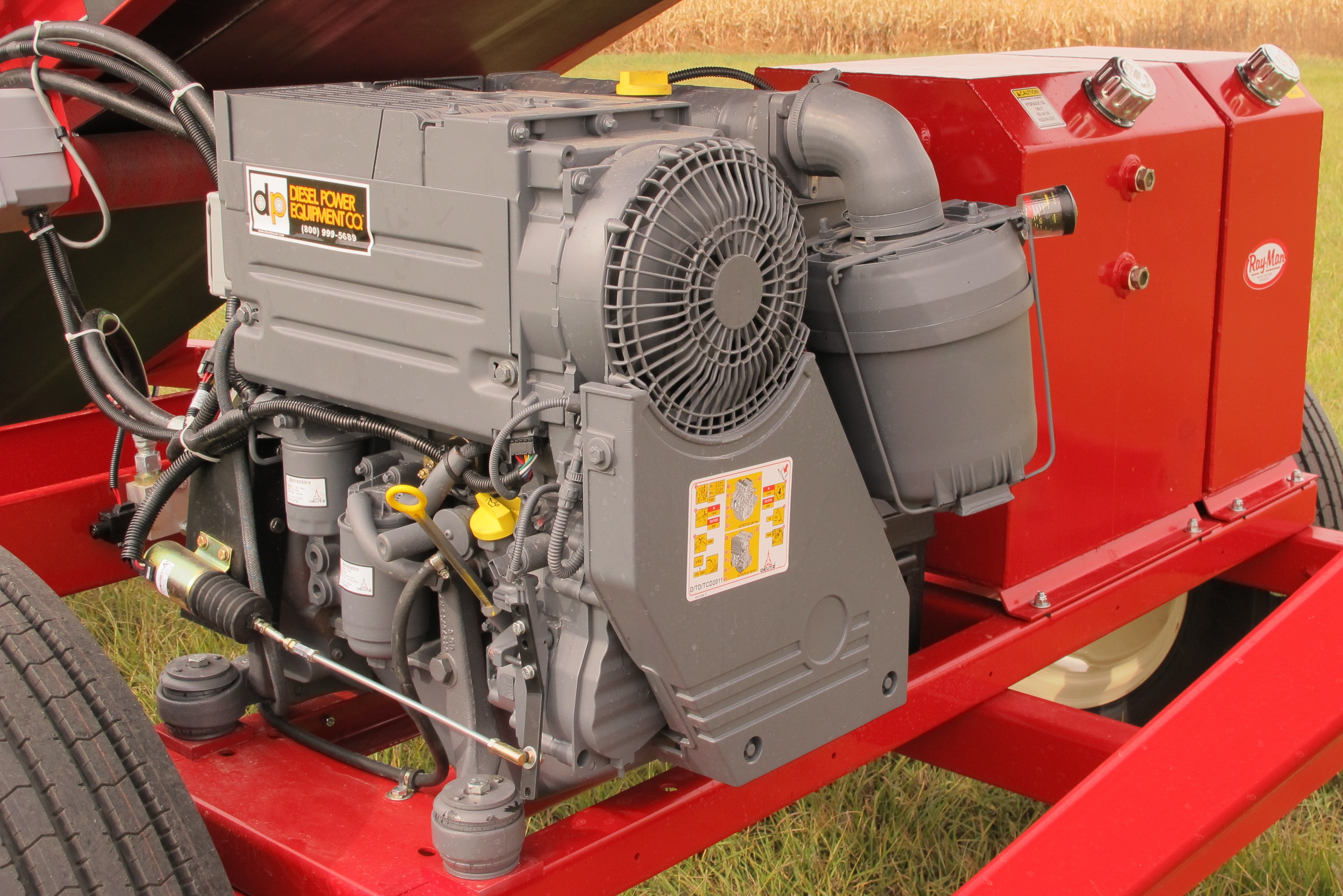 30in Floater Engine diesel engine