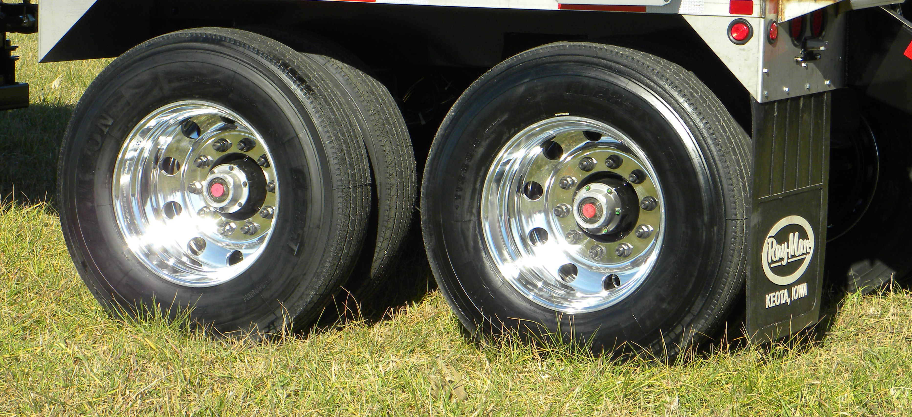 Aluminum Tractor Wheels : Charger ii semi trailer ray man inc