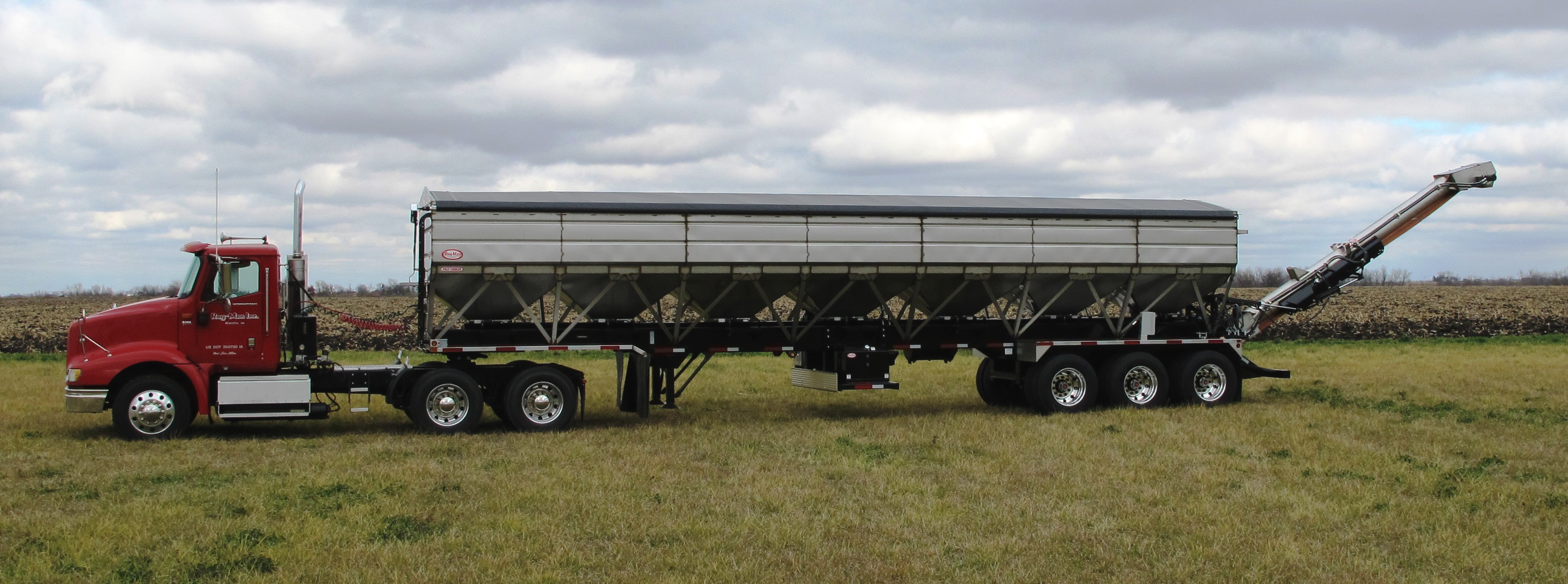 Ray-Man Charger II-CB Semi-Trailer